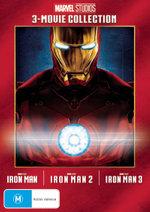 Marvel Studios: 3-Movie Collection (Iron Man / Iron Man 2 / Iron Man 3)