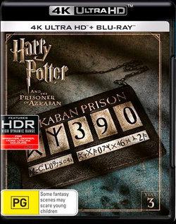 Harry Potter and the Prisoner of Azkaban (Year 3) (4K UHD/Blu-ray)