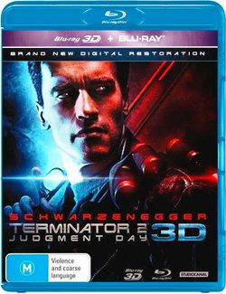 Terminator 2: Judgment Day 3D (3D Blu-ray/Blu-ray)