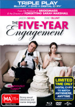 The Five Year Engagement (Blu-ray/DVD/Digital Copy)