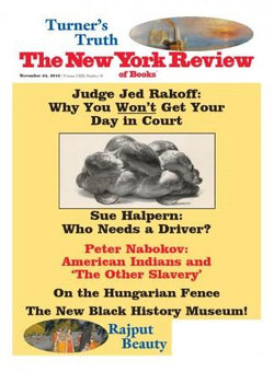 New York Review Of Books - 12 Month Subscription