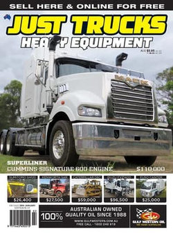 Just Trucks & Heavy Equipment - 12 Month Subscription