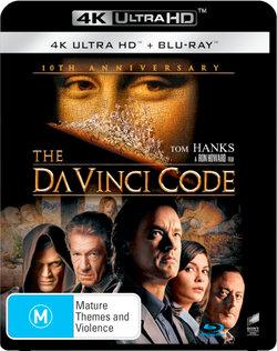 The Da Vinci Code (10th Anniversary) (4K UHD / Blu-ray)