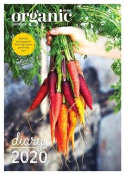 ABC Organic Gardener 2020 Diary