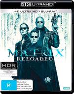 The Matrix Reloaded (4K UHD/Blu-ray)