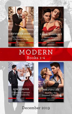 Modern Box Set 1-4/The Greek's Surprise Christmas Bride/Secret Prince's Christmas Seduction/Christmas Contract for His Cinderella/Maid for the