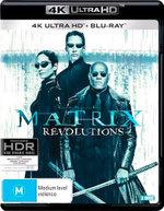 The Matrix Revolutions (4K UHD/Blu-ray)