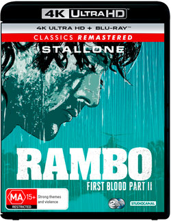 Rambo: First Blood Part II (Classics Remastered) (4K UHD/Blu-ray)