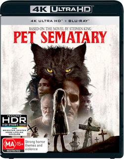 Pet Sematary (2019) (4K UHD / Blu-ray)