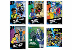 Project X Alien Adventures: Dark Blue, Dark Red and Dark Red + Book Bands, Oxford Levels 15-20 Singles Pack
