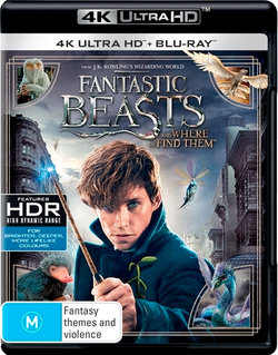 Fantastic Beasts  and Where to Find Them (4K UHD / Blu-ray / UV)