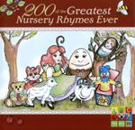 200 of the Greatest Nursery Rhymes Ever (ABC for Kids) (2CD)