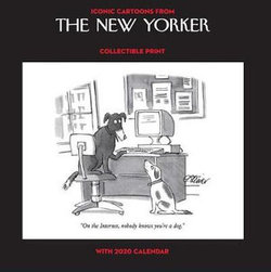 e9e1d3b96 Cartoons from the New Yorker 2020 Collectible Print with Wall Calendar