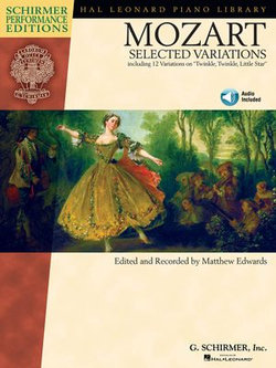 Mozart - Selected Variations (Songbook)
