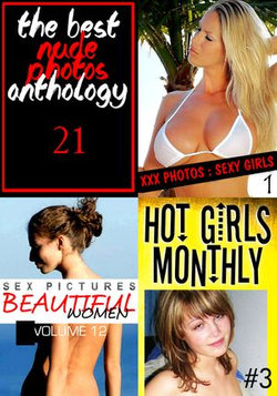 The Best Nude Photos Anthology 21 - 3 books in one