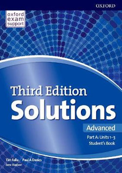 Solutions: Advanced: Student's Book a Units 1-3