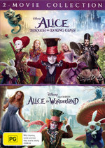 Alice: Through The Looking Glass (2016) / Alice in Wonderland (2010) (2-Movie Collection)