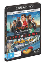Spider-Man: Far From Home / Spider-Man: Homecoming (2 Movie Collection) (4K UHD/Blu-Ray)