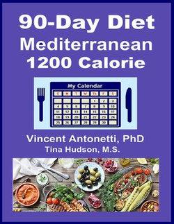 90-Day Mediterranean Diet - 1200 Calorie