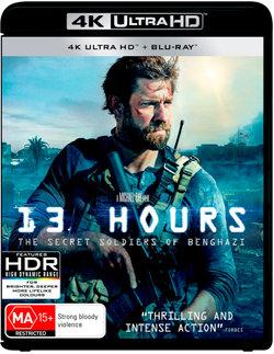 13 Hours: The Secret Soldiers of Benghazi (4K UHD/Blu-ray)