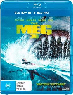 The Meg 3D (3D Blu-ray/Blu-ray)