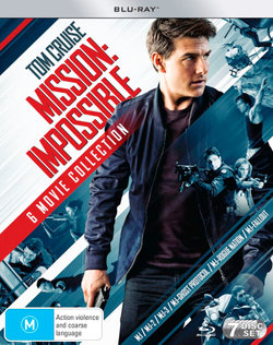Mission: Impossible - 6 Movie Collection (Mission:Impossible/M:I-2/M:I:III/Ghost Protocol/Rogue Nation/Fallout) (Blu-ray/Bonus Disc)