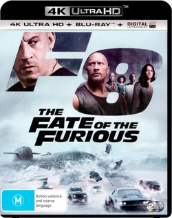 F8: The Fate of the Furious (4K UHD / Blu-ray / UV)
