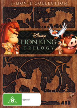 The Lion King Trilogy: 3-Movie Collection (The Lion King / The Lion King 2: Simba's Pride / The Lion King 3)