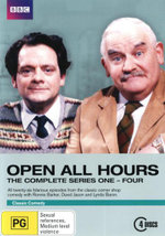 Open All Hours: Series 1-4 Box Set