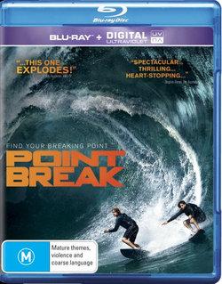 Point Break (2015) (Blu-ray/UV)