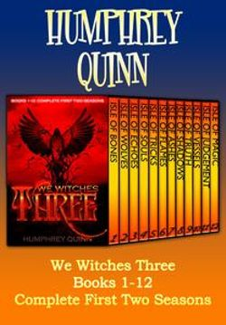 We Witches Three Books 1-12 (Complete First Two Seasons)