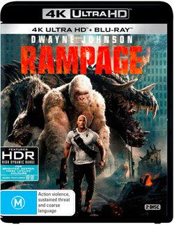 Rampage (2017) (4K UHD / Blu-ray)
