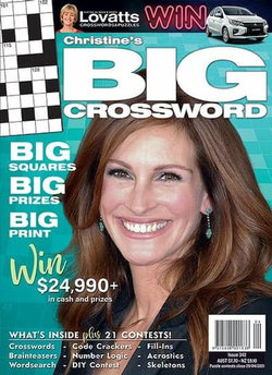 Christine's BIG Crossword - 12 Month Subscription
