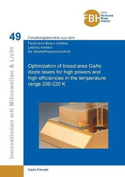 Optimization of broad-area GaAs diode lasers for high powers and high efficiencies in the temperature range 200-220 K