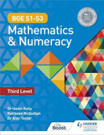 BGE Mathematics and Numeracy for S1-3, Level 3