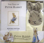 Peter Rabbit: The Tale of Peter Rabbit Book and Blanket Gift Set