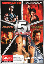 Commando / Kiss of the Dragon / Speed / Big Trouble in Little China / Die Hard (5 Great Movies)