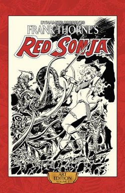 Frank Thorne's Red Sonja: Art Edition Vol 3