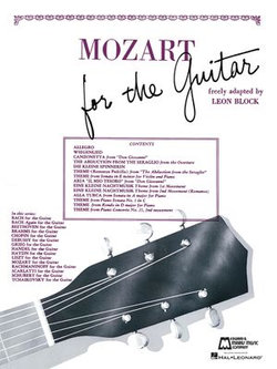 Mozart for Guitar (Songbook)