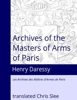 Archives of the Masters of Arms of Paris