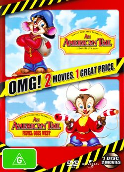 An American Tail / An American Tail 2: Fievel Goes West (OMG! 2 Movies)