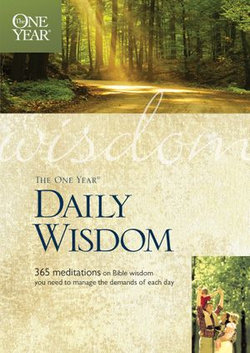 The One Year Daily Wisdom