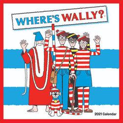 Where's Wally - 2021 Wall Calendar
