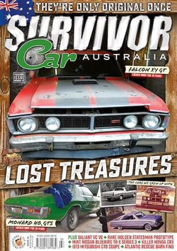 Survivor Car Australia - 12 Month Subscription