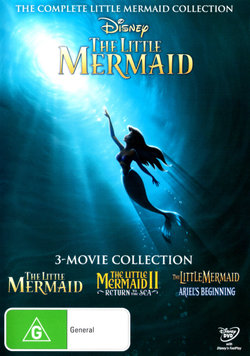 The Little Mermaid: 3-Movie Collection (The Little Mermaid / The Little Mermaid II: Return to the Sea / The Little Mermaid: Ariel's Beginning)