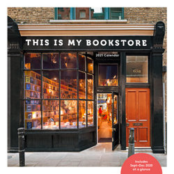 2021 Wall Calendar: This Is My Bookstore
