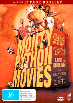 The Monty Python Movies (And Now for Something Completely Different/Monty Python and the Holy Grail/Life of Brian/Meaning of Life) (Includes Booklet)