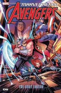 Marvel Action: Avengers : The Ruby Egress