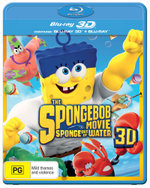 The SpongeBob Movie: Sponge Out of Water 3D (3D Blu-ray/Blu-ray)
