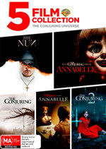 5 Film Collection: The Conjuring Universe (The Nun / Annabelle / The Conjuring / Annabelle: Creation / The Conjuring 2)